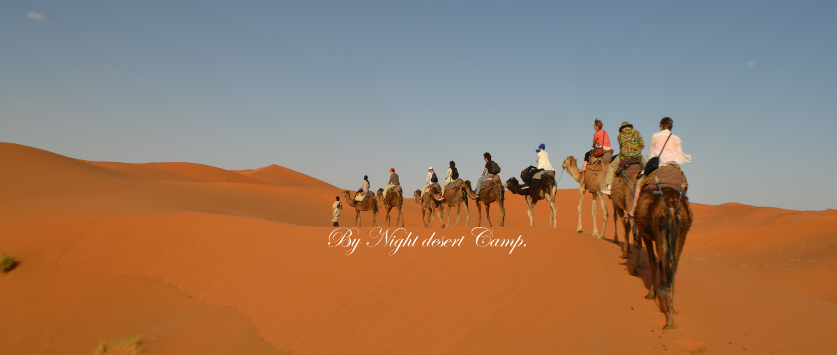 night desert camps merzouga